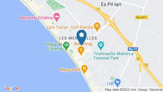 Hotel Riu Festival Map