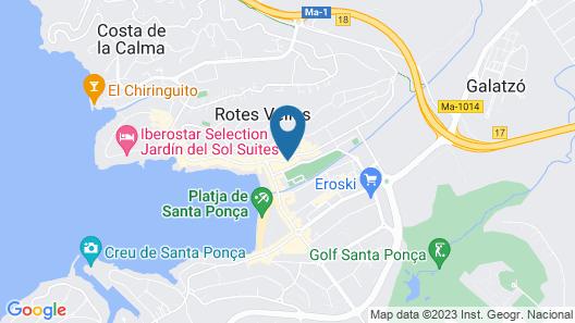 Pierre & Vacances Mallorca Deya Map