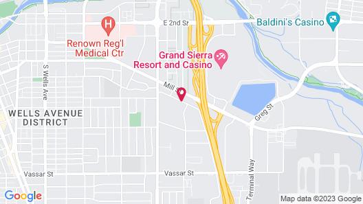 Baymont by Wyndham Reno Map