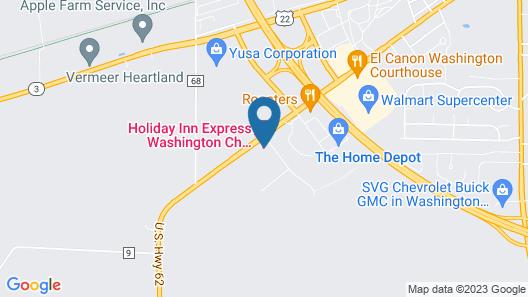 Holiday Inn Express Washington Court House, an IHG Hotel Map