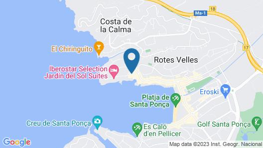 TRH Jardin Del Mar Map