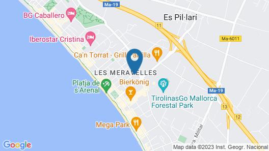 Cook's Club Palma Beach Map