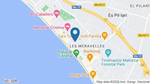 Hotel Príncipe Map