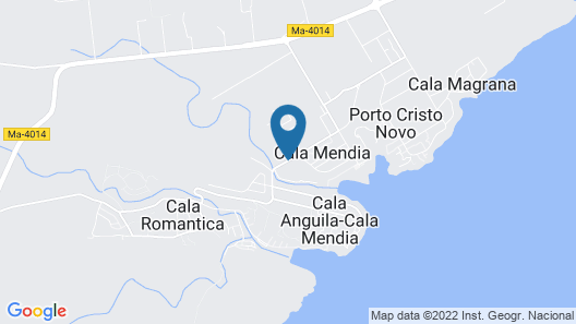 Insotel Cala Mandía Resort & Spa Map