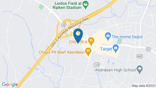 Travelodge by Wyndham Aberdeen Map