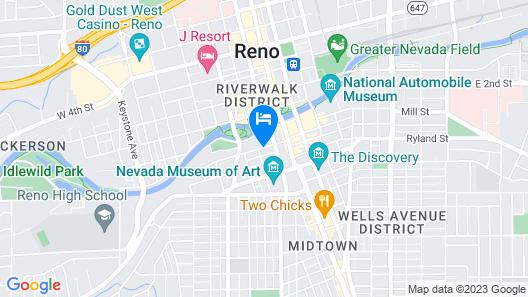 Legacy Vacation Resorts Reno Map