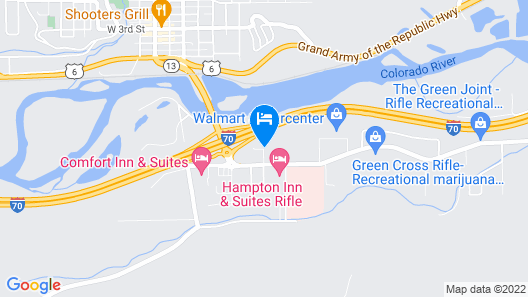 La Quinta Inn & Suites by Wyndham Rifle Map