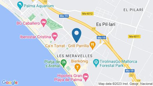 Hotel Cosmopolitan Map