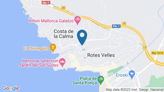 Apartamentos Globales Costa de la Calma (Antiguo OLA Bouganvillia) Map