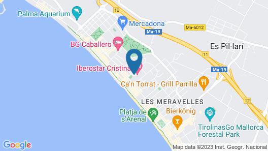 Iberostar Cristina Map