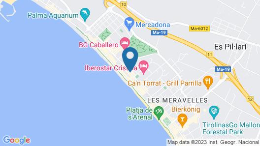 Iberostar Bahía de Palma - Adults Only Map
