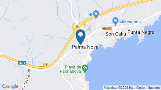 Globales Palmanova Map