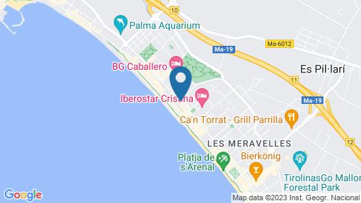 Iberostar Selection Playa de Palma Map
