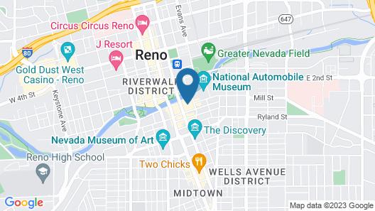 Renaissance Reno Downtown Hotel & Spa Map