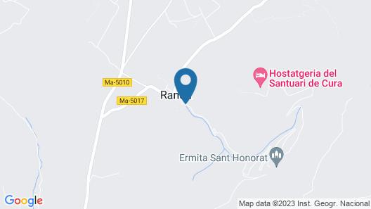Villa Son Batlet Map