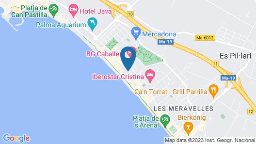 HM Gran Fiesta Hotel Map