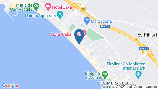 Hotel Negresco - Adults Only Map