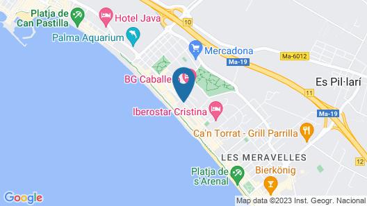HM Balanguera Beach Map