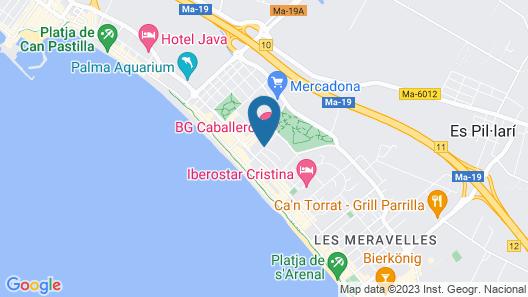 Hotel Pamplona Map