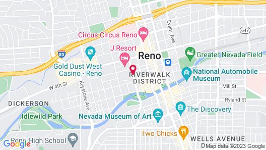 WorldMark Reno Map