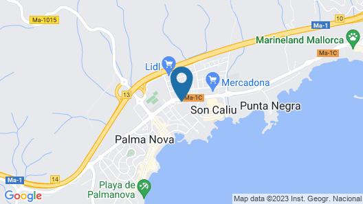 Hotel Ibersol Son Caliu Mar Map