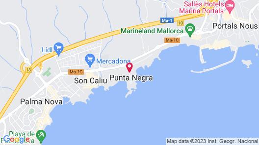 H10 Punta Negra Boutique Hotel Map