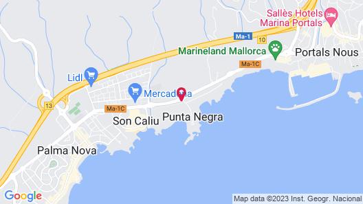 The St. Regis Mardavall Mallorca Resort Map