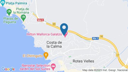 Maritim Hotel Galatzó Map