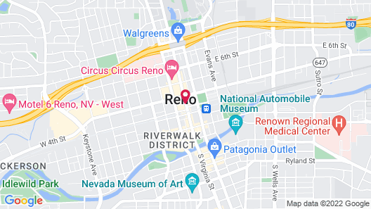 Eldorado Resort Casino at THE ROW Map