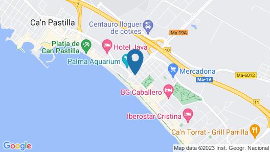 Hotel Sant Jordi Map