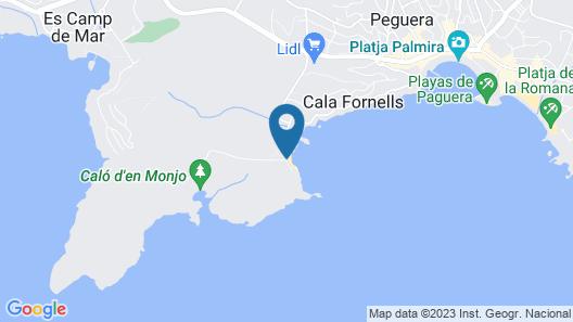 Hotel Coronado Thalasso & Spa Map