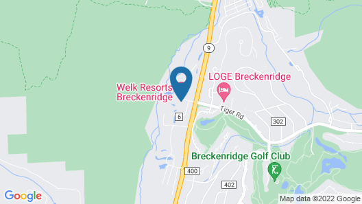 Welk Resorts Breckenridge The Ranahan Map