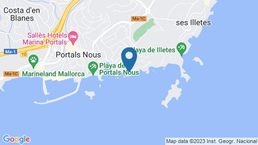 Hotel Bendinat Map