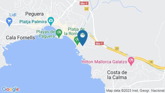 Hapimag Resort Paguera Map