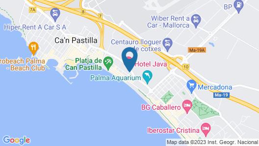 Hotel Java Map
