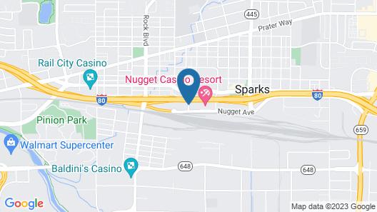 Nugget Casino Resort Map