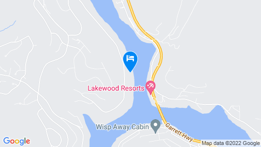Lakefront Home W/dock Slip, Hot Tub, & Fire Pit! Map