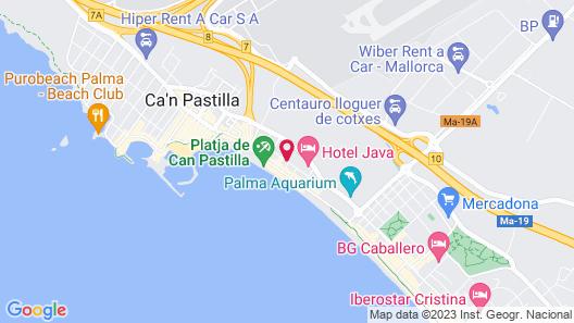 Helios Mallorca Hotel & Apartments Map