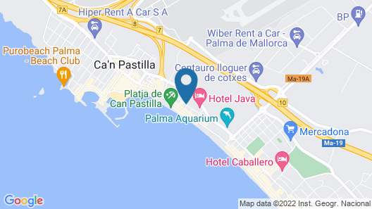 Helios Mallorca Hotel & Apartments Map