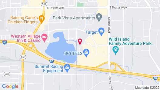 Residence Inn by Marriott Reno Sparks Map