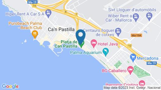 Hotel Saulo Map