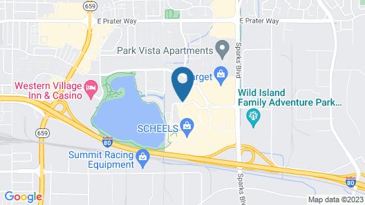 Hampton Inn & Suites Reno/Sparks Map