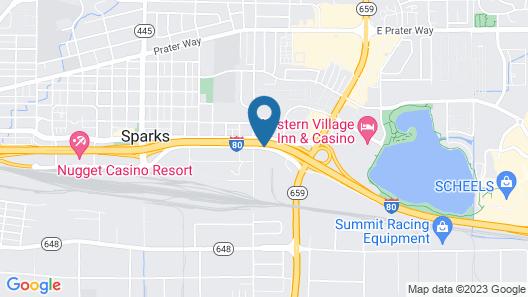 Best Western Plus Sparks-Reno Hotel Map