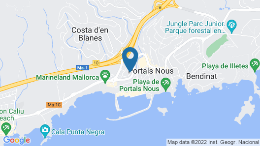 Tomir Portals Suites Map