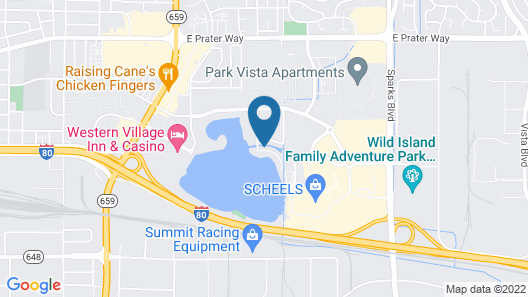 Sparks Home w/ Dock & Patio, 35 Miles to N. Tahoe! Map