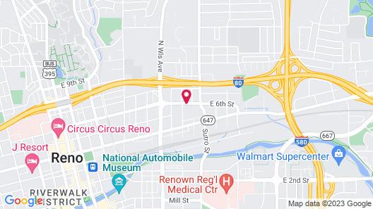 Ramada by Wyndham Reno Hotel and Casino Map