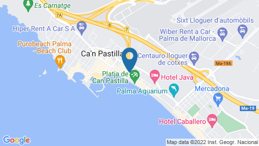 Hotel THB El Cid - Adults Only Map