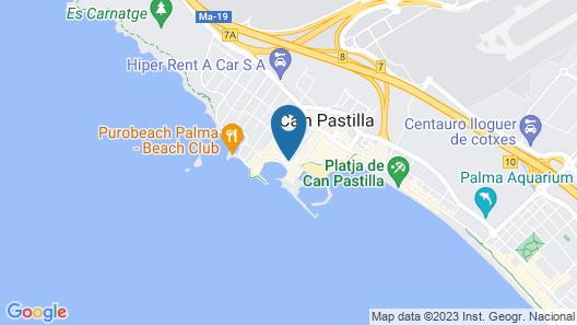 BQ Aguamarina Boutique Hotel Map