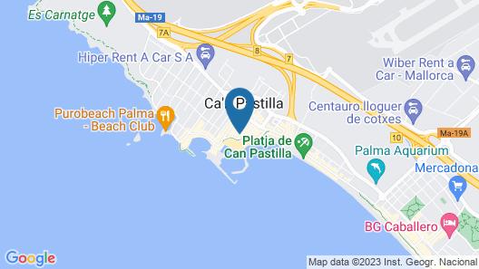 Hotel Las Arenas Map
