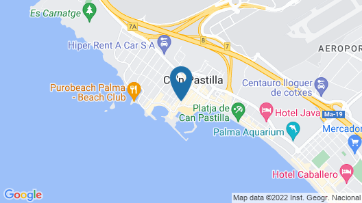 Nautic Hotel & Spa Map